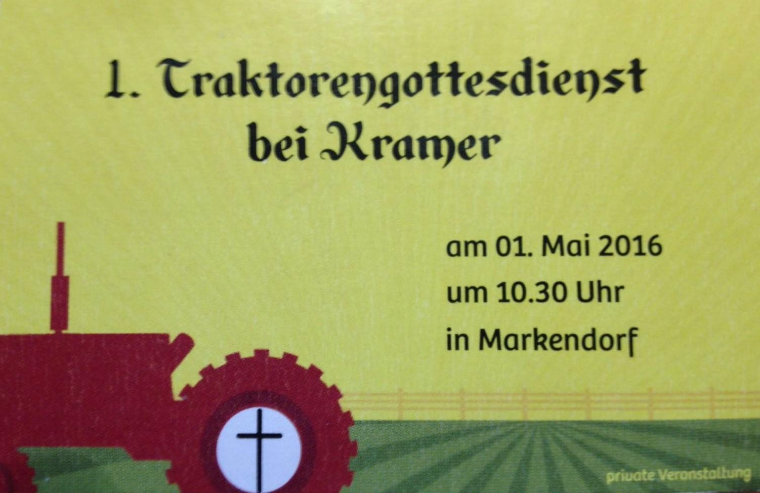 traktorgottesdienst in markendorf am 1 mai pfarrbezirk schwenningdorf rotenhagen der. Black Bedroom Furniture Sets. Home Design Ideas